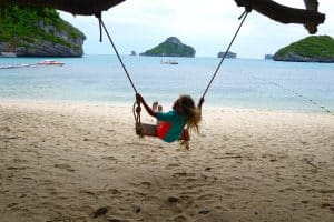 Thailand travel with kids