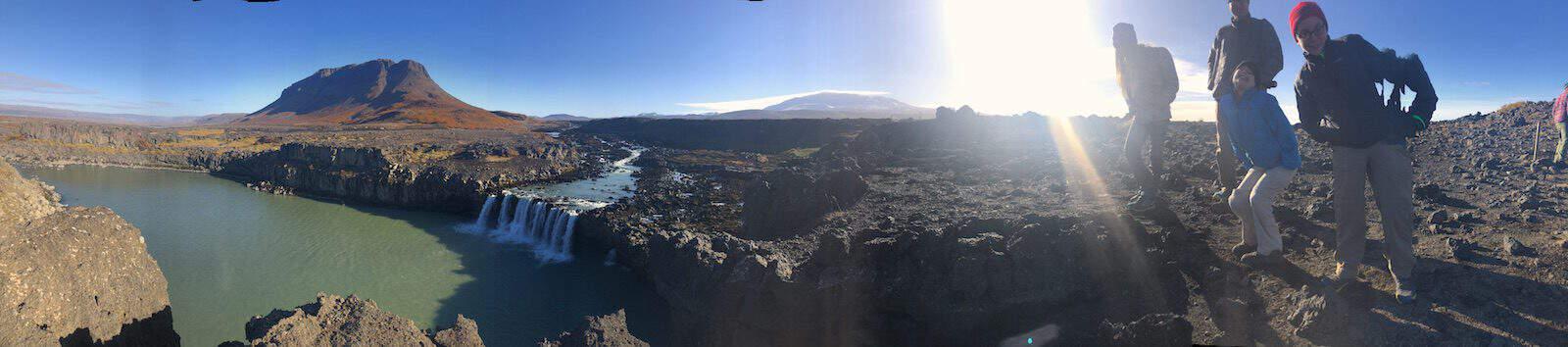 Iceland Thjofafoss