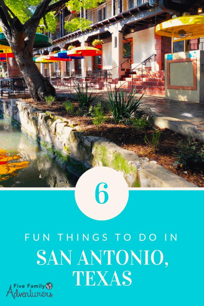 six things to do in San Antonio,Texas