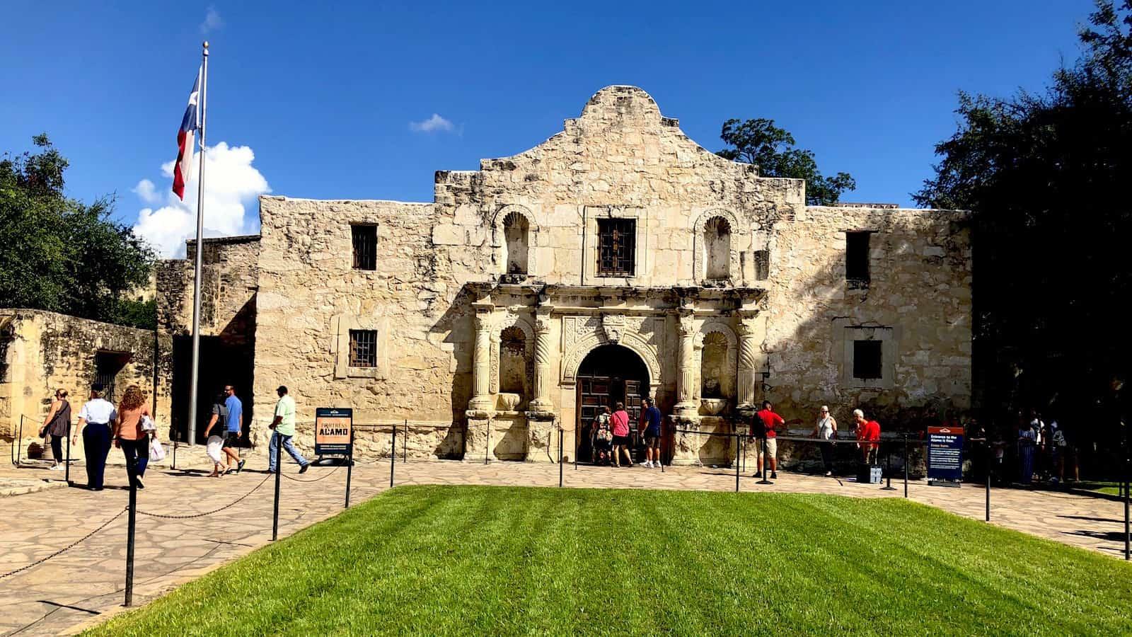 San Antonio, The Alamo