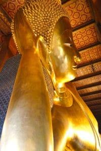 Reclining Buddha, Bangkok Thailand Wat Pho