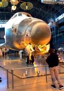 Space shuttle, Chantilly VA