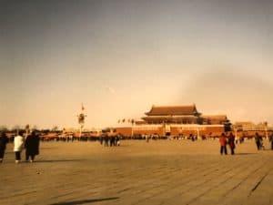 Tiananmen Square 1986 China