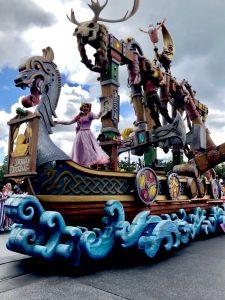 Disney Parade viewing area, Disney VIP