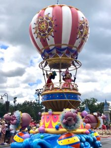 Disney VIP viewing area
