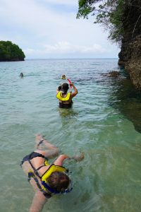 Pearl Island snorkeling, Panama