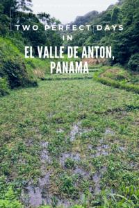 El Valle de Anton, Panama