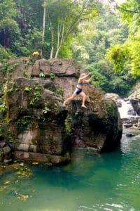 Las Lailas waterfall el valle de anton, Panama