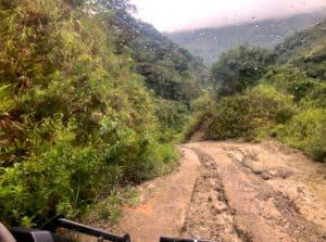 El valle Anton,Panama mountains