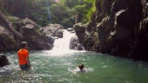 Las Lailas waterfall, el valle de anton,Panama
