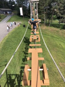 Wisp Rope course