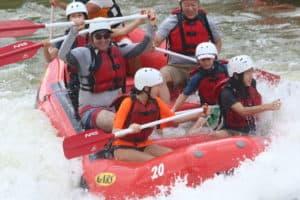Wisp Mountain Water Rafting