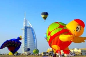 Hot Air Balloon- Dubai