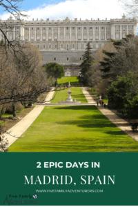 Madrid, Spain Royal Palace