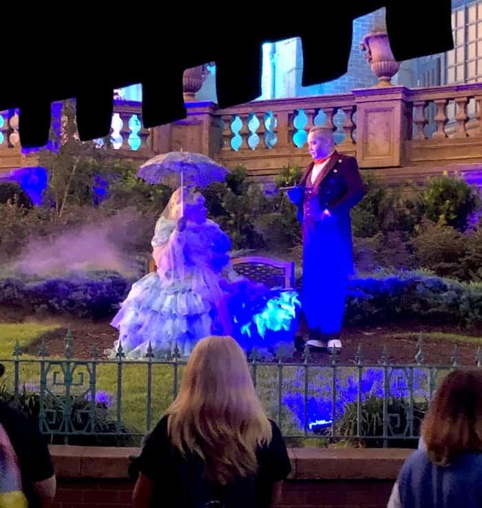Haunted Mansion Madame Carlotta, Magic Kingdom
