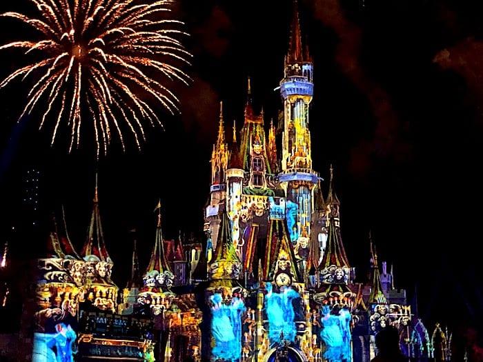 Disney's Not So Spooky Spectacular Magic Kingdom Fireworks