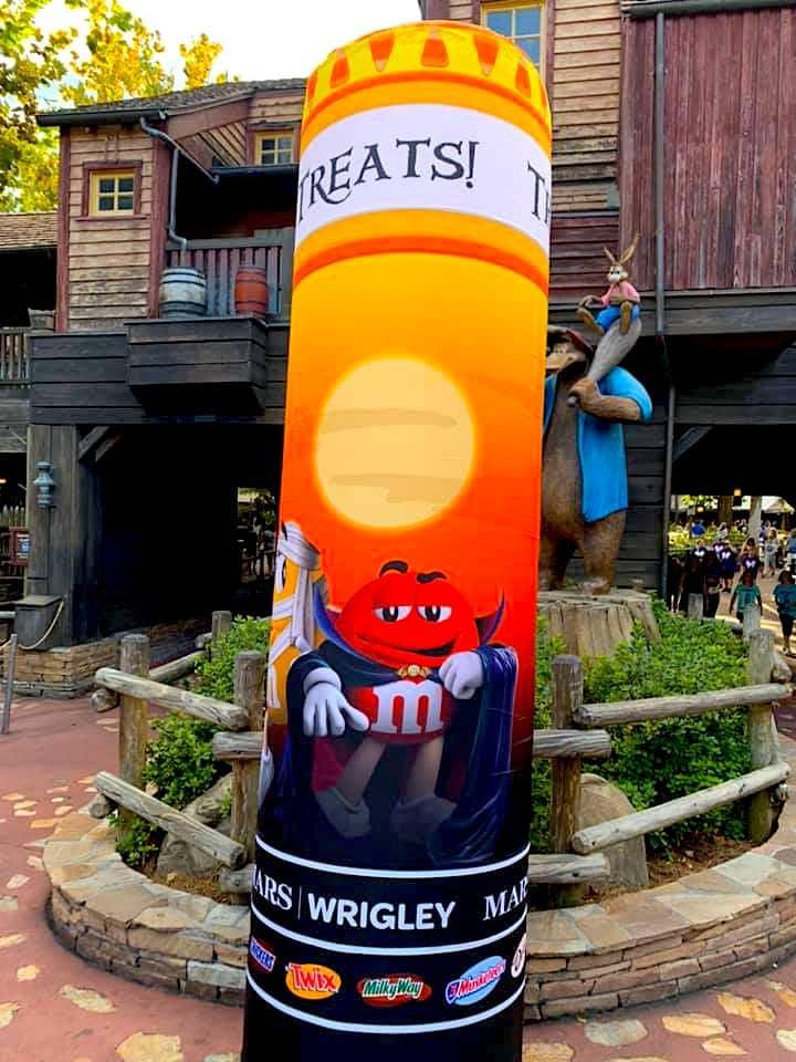 MNSSHP Candy stops, Magic Kingdom