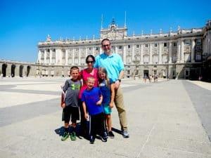 Madrid Spain, Royal Palace