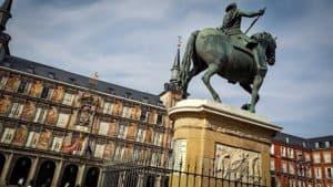 Madrid Spain Plaza Mayor