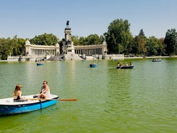 Madrid Spain Retiro Park