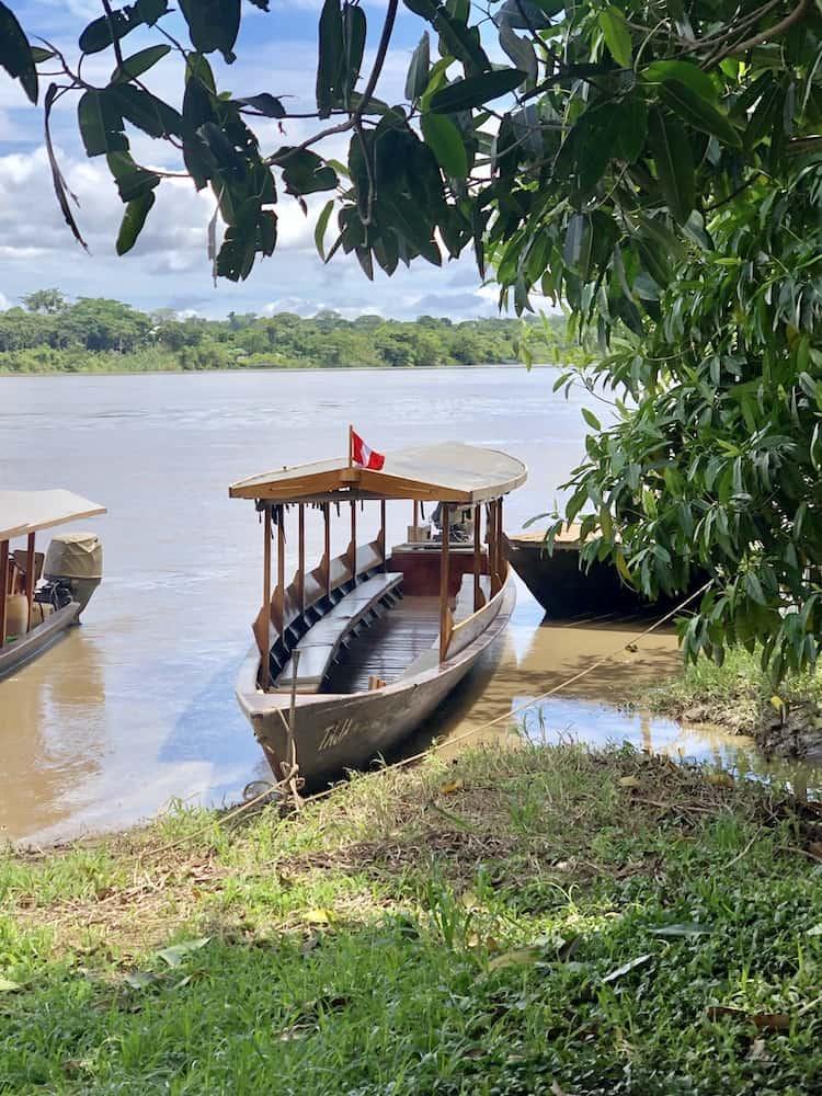 Madre de Dios River, Peru