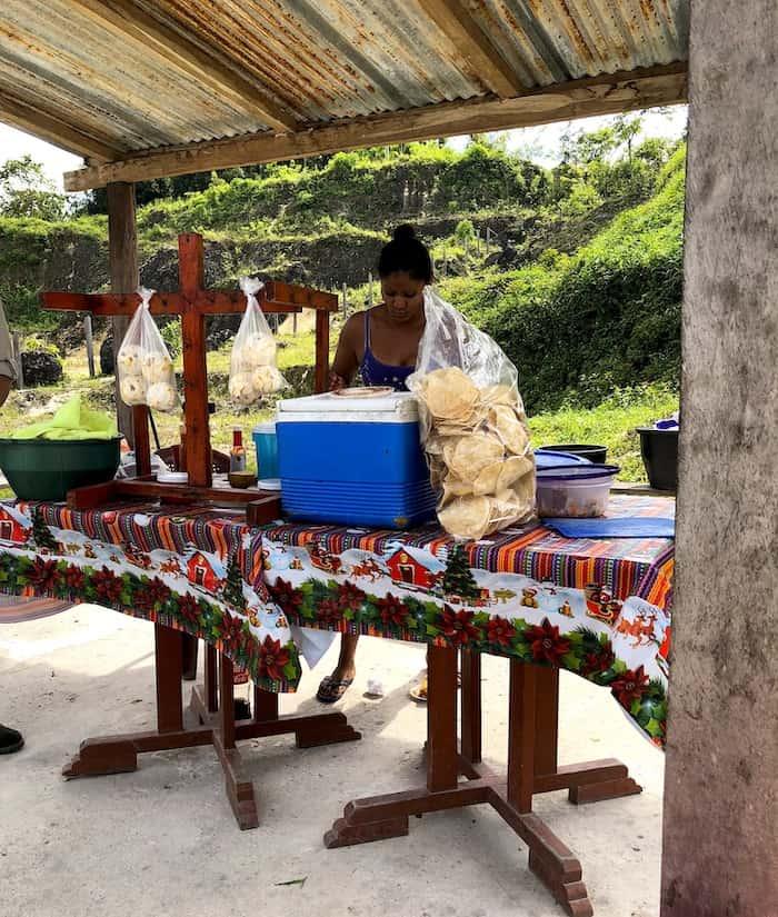tortilla stand, Guatemala