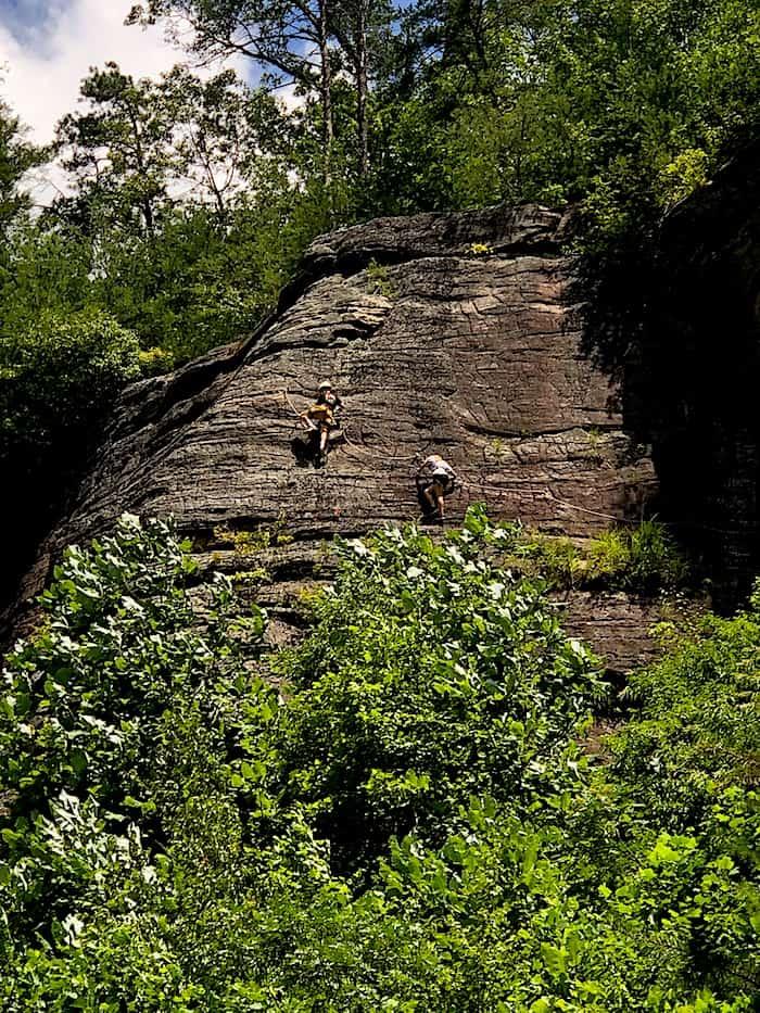 Viaferrata Red River Gorge, Kentucky