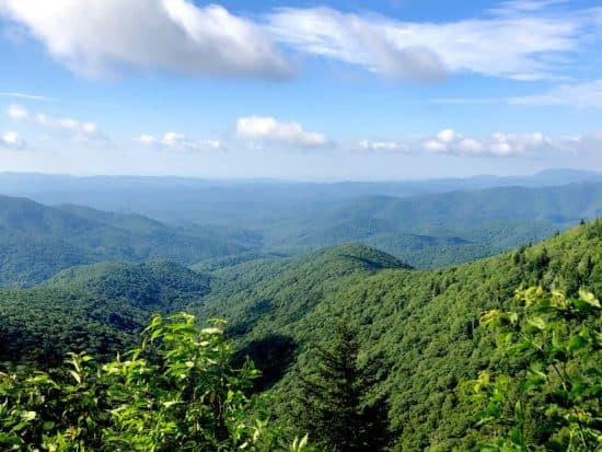 Sam Knob Trail, Pisgah National Forest