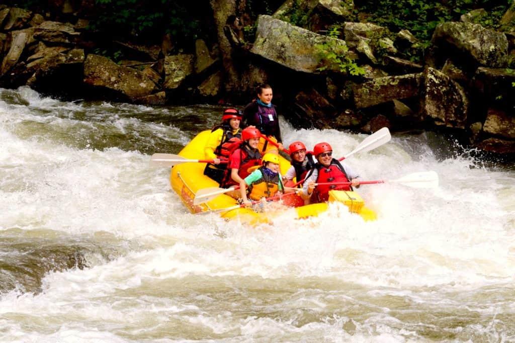 Nantahala River Rafting, North Carolina