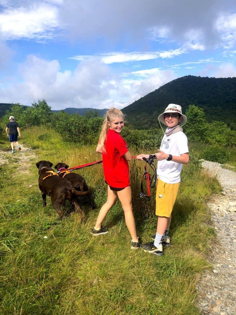 Sam Knob Trail, Pisgah Forest