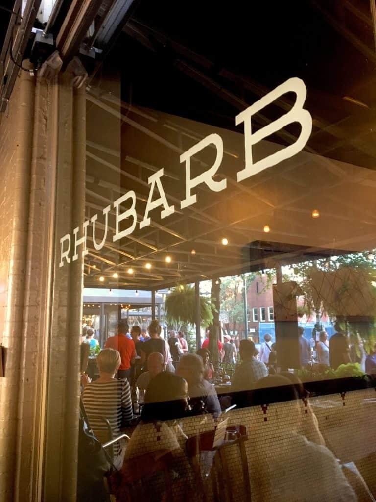 Rhubarb Asheville, North Carolina