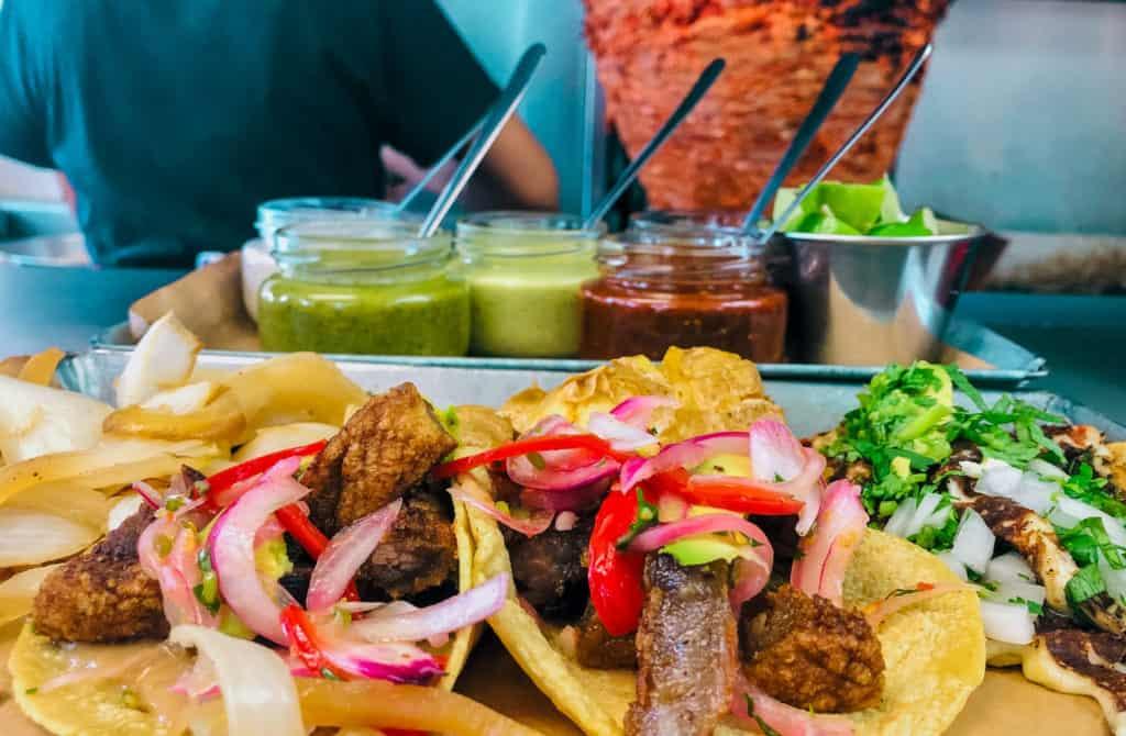 Local Dishes, Taco al Pastor