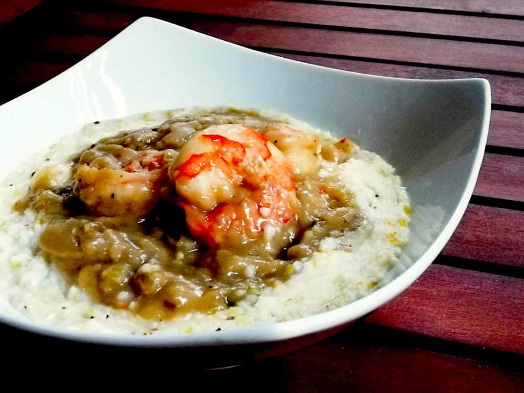 Local Cuisine, Shrimp and Grits