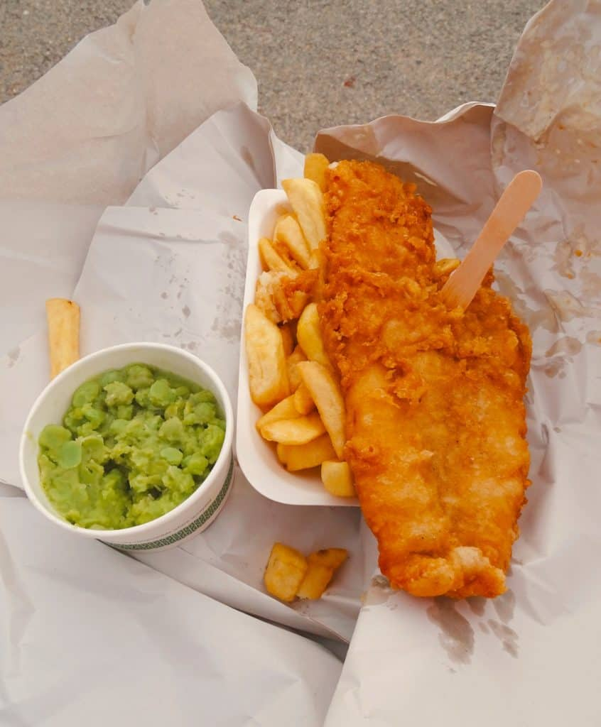 Local Cuisine, Fish and Chips England