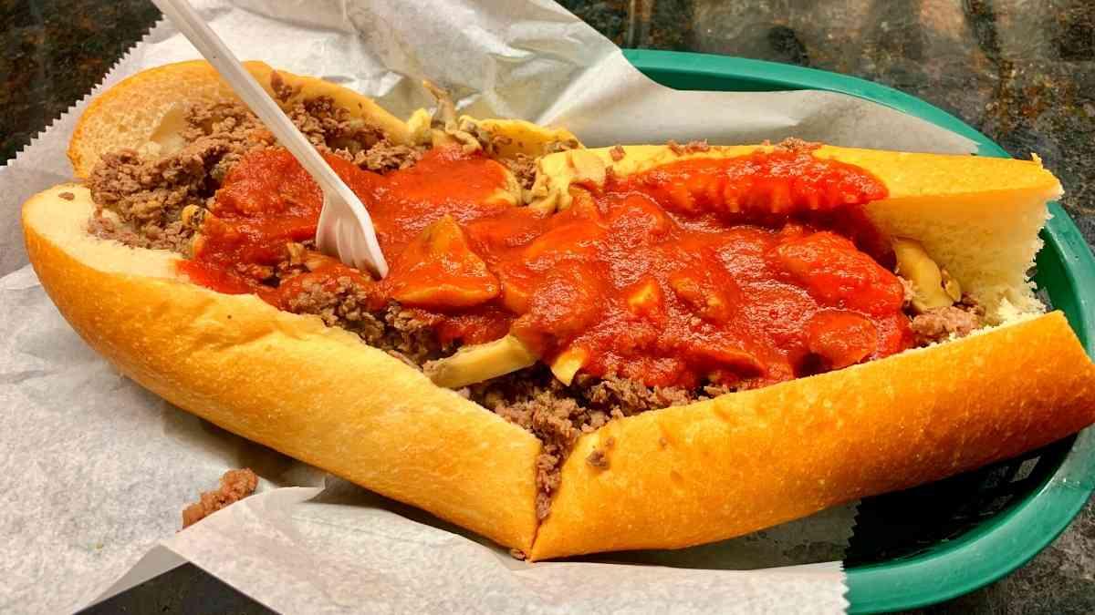 Local Cuisine, Philadelphia Cheesesteak