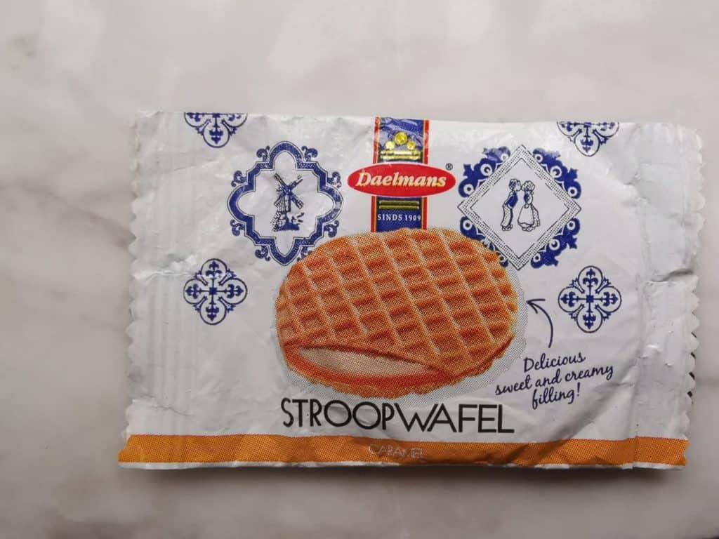 Local Cuisine Stroopwafel the Netherlands