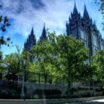 Picture of Salt Lake City Temple, Utah